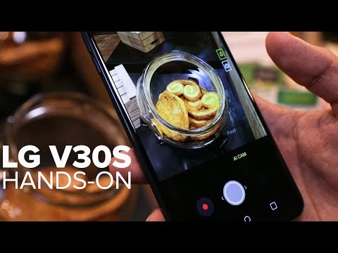 LG V30S ThinQ: Better specs and a smart camera