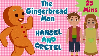 Nonton The Gingerbread Man   Hansel And Gretel   Compilation   Animated Fairy Tales For Children Film Subtitle Indonesia Streaming Movie Download