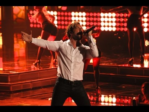 David Bisbal en la final de la Voz Kids, Orlando