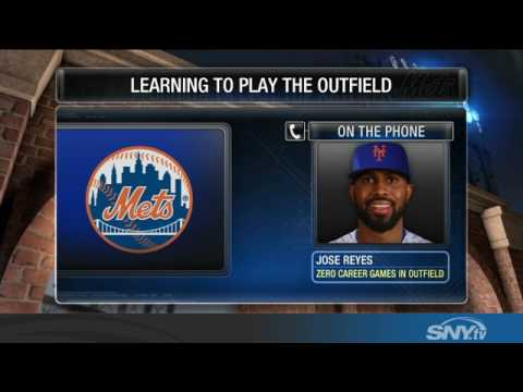 Video: Jose Reyes talks about playing all over the field for the 2017 Mets