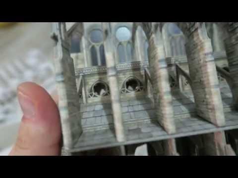 Notre-Dame de Paris 3D макет
