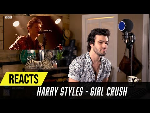 Producer Reacts to Harry Styles - Girl Crush (Live)