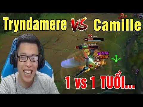 TOP Tryndamere vs Camille | Solo 1 vs 1 Thì Chú Mày Tuổi - Trâu best Udyr - Thời lượng: 18 phút.
