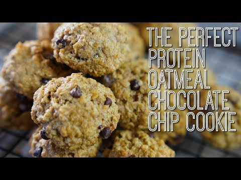 Fat burner - The PERFECT Oatmeal Chocolate Chip Cookies!