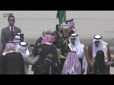 مصر العربية   ترامب يصل الرياض في أول زيارة خارجية له