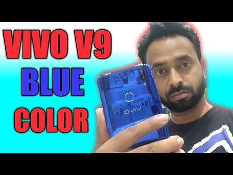 VIVO V9 KILLER  SAPPHIRE BLUE COLOR | limited edition review |