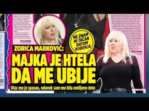 SKANDAL NOVINE: Majka htela da ubije Zoricu Marković, Macu je majka tukla do krvi, Marina Tucaković – nije mi žao Cece