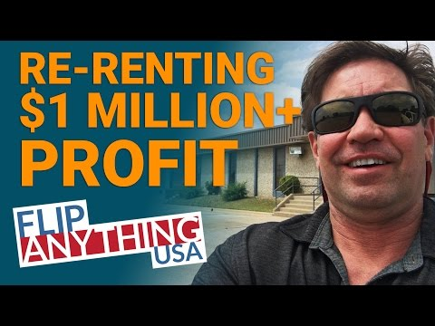 Re-Renting - $1 Million+ Profit - Real Estate Investing subletting