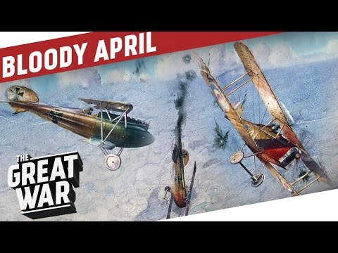 Fight For Air Supremacy - Bloody April 1917 I THE GREAT WAR Special feat. Real Engineering (видео)