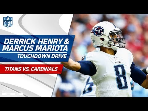 Video: Marcus Mariota & Derrick Henry Carry Tennessee on Big TD Drive! | Titans vs. Cardinals | NFL Wk 14