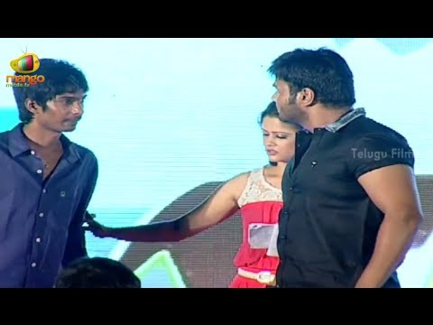 Manchu Manoj warning Dhanraj @ Jump Jilani Audio Launch - Allari Naresh