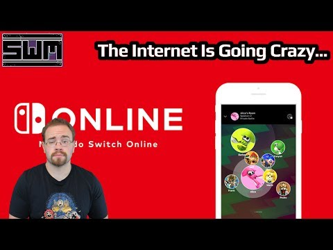 News Wave! - Nintendo's Online App Came Out For The Switch...And The Internet Went Crazy!