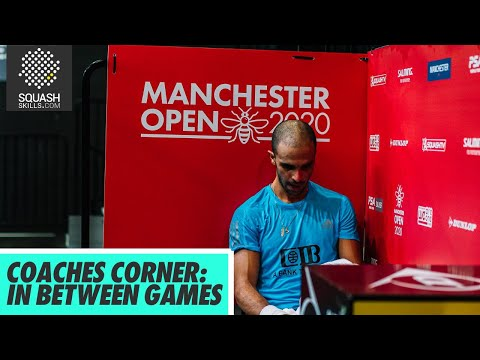 Squash Tips: Coaches Corner with Jethro Binns - In Between Games