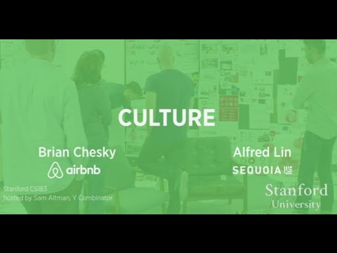lecture - Brian Chesky, Founder of Airbnb, and Alfred Lin, Former COO of Zappos and Partner at Sequoia Capital, talk Culture in lecture 10 of How to Start a Startup. See the slides, readings, and more,...