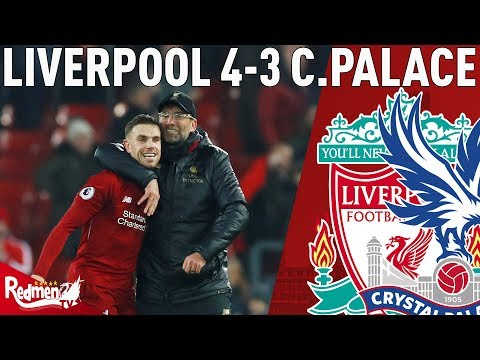 Mad As A Box Of Frogs! | Liverpool V Crystal Palace 4-3 | Chris' Match Reaction