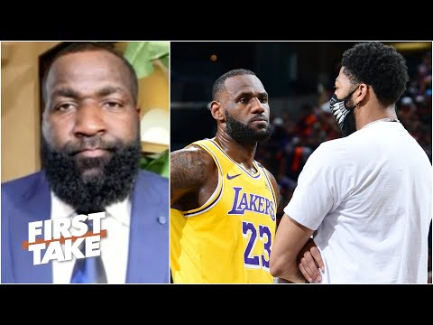 Perk doesn't like Charles Barkley calling Anthony Davis 'Street Clothes' | First Take