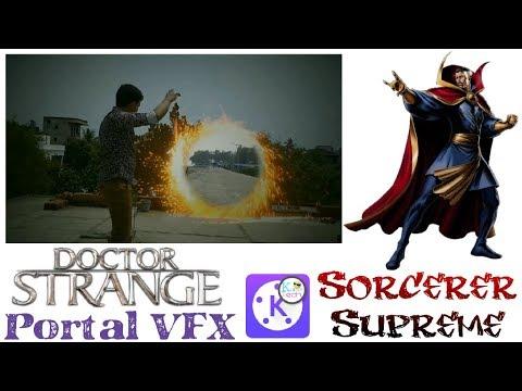 How to make dr strange portal effect in Kinemaster#kumar tech#kinemaster Tutorial HD