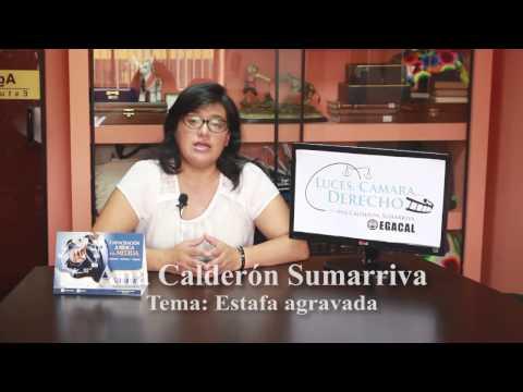 Programa 18 - Estafa Agravada - Luces Cámara Derecho - EGACAL