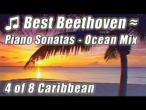 CLASSICAL MUSIC for Studying 4 Instrumental BEETHOVEN Piano Sonatas Moonlight Sonata, Sonata N9
