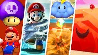 Evolution Of Worst Power-Ups In Super Mario Games 1986 - 2018