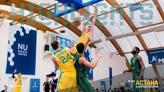 Hightlits of the match National League — Final: «Astana» — «Barsy Atyrau» (2nd match)
