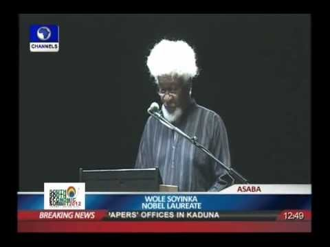 Video:Wole Soyinka: Mission ,The Future-Channelstv