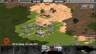 Hà Nội vs Skyred, Ngày 07/10/2015, C1T2, game đế chế, clip aoe, chim sẻ đi nắng, aoe 2015