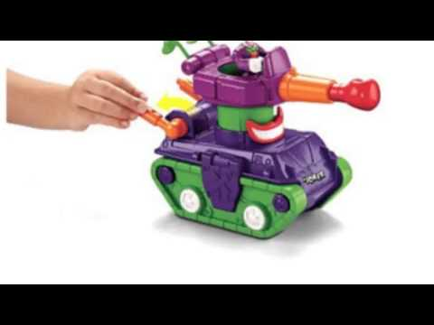 Video Newest tube of the Imaginext Dc Super Friends Joker Tank