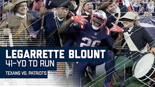 LeGarrette Blount Blows Past Texans Defense for 41-Yard TD! | Texans vs. Patriots | NFL by NFL