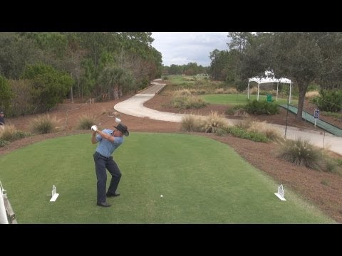 GOLF SWING 2012 – THE SHARK GREG NORMAN DRIVER – ELEVATED DTL & SLOW MOTION – HQ 1080p HD