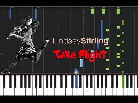 видео игры на фортепиано - Take flight