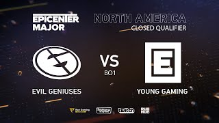 EG vs Young Drug Gaming, EPICENTER Major 2019 NA Closed Quals , bo1 [Maelstorm & Lost]