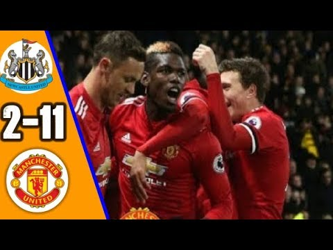 Newcastle vs Manchester United 2 -11   All Goals & EXT Highlights RÉSUMÉ & GOLES  Last Matches  HD