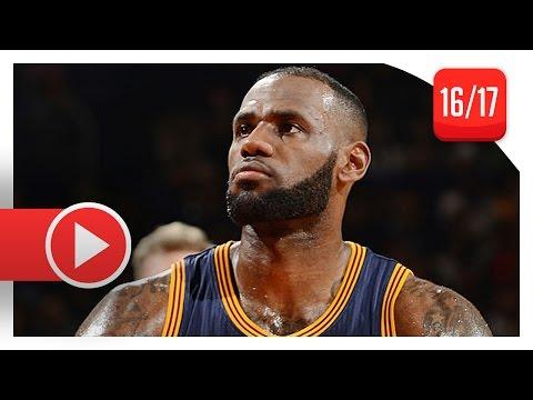 LeBron James Full Highlights vs Raptors (2016.10.28) - 21 Pts, 8 Reb, 7 Ast