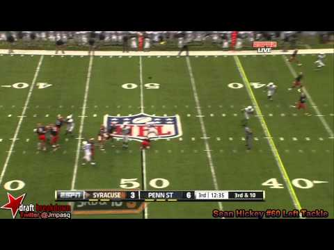 Sean Hickey vs Penn St. 2013 video.