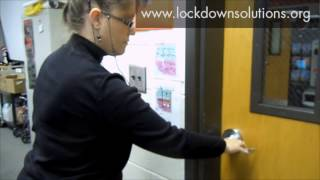 <h5>Fast Classroom Security</h5><p>How fast can you secure a classroom?</p>