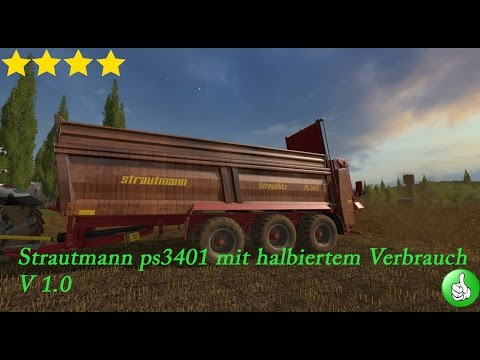 Strautmann ps3401 with halved consumption v1
