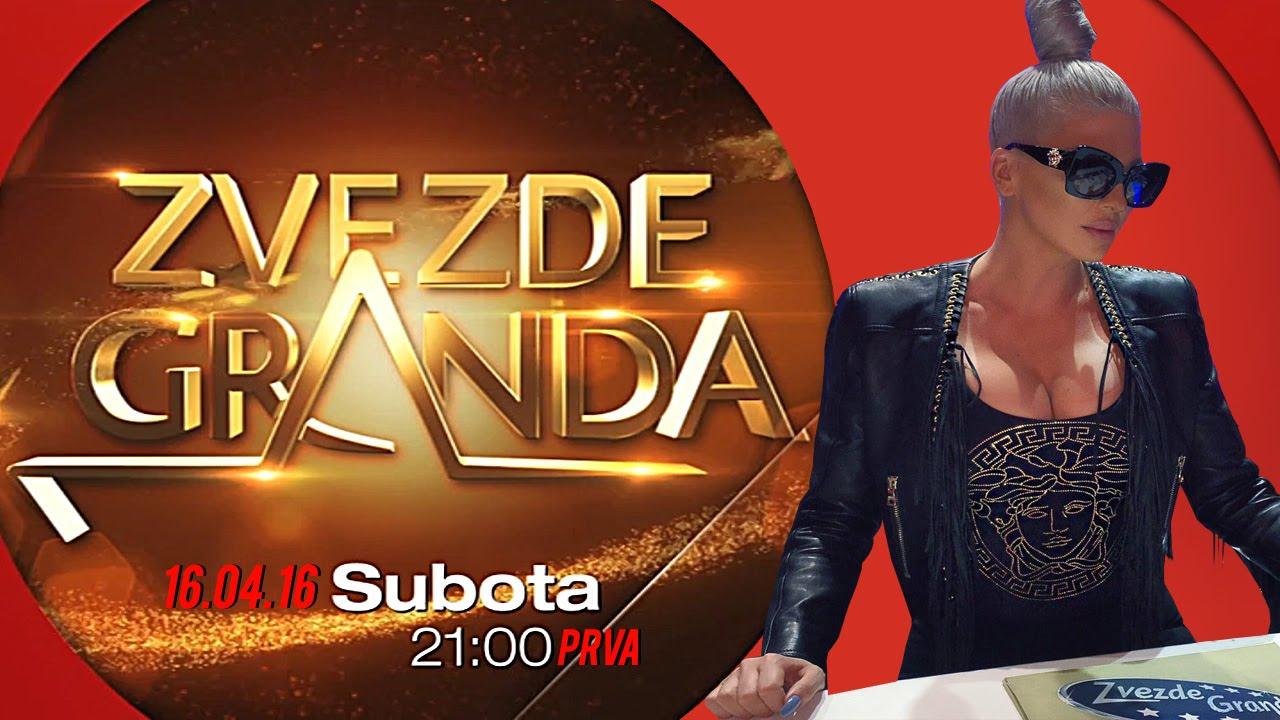 ZVEZDE GRANDA 2016 – trideseta emisija – 16. 04. – najava