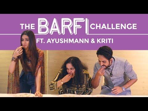 Bareilly Ki Barfi Food Challenge Ft. Ayushmann Khurrana & Kriti Sanon   Sweet Challenge   Pinkvilla
