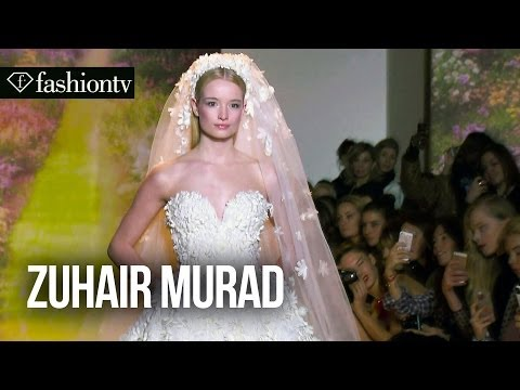 couture - http://www.FashionTV.com/videos PARIS - FashionTV checks out the Zuhair Murad Spring/Summer 2014 show at Paris Haute Couture Fashion Week. Everyone here at F...