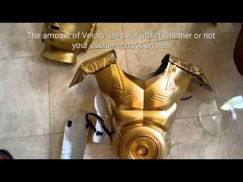 DIY C3PO Costume
