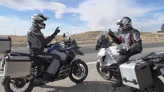 8. BMW R1200GS Adventure vs. KTM 1290 Super Adventure | ON TWO WHEELS