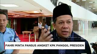 Wakil Ketua DPR Fahri Hamzah meminta Pansus Hak Angket KPK memanggil Presiden Joko Widodo terkait dengan koordinasi antara Presiden dan Komisi Pemberantasan Korupsi (KPK).Dia menuturkan hal itu terkait dengan bagaimana tanggapan Presiden mengenai kinerja lembaga anti-korupsi tersebut.Ikuti berita terbaru di tahun 2017 dengan kemasan internasional berbahasa Indonesia, dan jangan ketinggalan breaking news 2017 dengan berita terakhir dan live report CNN Indonesia di https://www.cnnindonesia.com dan channel CNN Indonesia di Transvision. Follow & Mention Twitter kami :@myTranstweet@cnniddaily@cnnidconnected @cnnidinsight @cnnindonesia Like & Follow Facebook:CNN IndonesiaFollow IG: cnnindonesia