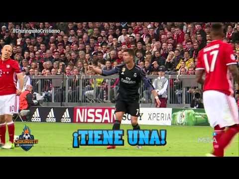 Kështu nuk e keni parë asnjëherë Ronaldon, shtyhet kokë më kokë me gjyqtarin (Video)