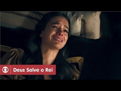 Deus Salve O Rei: capítulo 111 da novela, quinta, 17 de maio, na Globo.