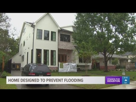 Home designed to prevent flooding