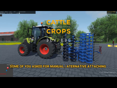 DevLog - Alternative attaching at the three-point hitch