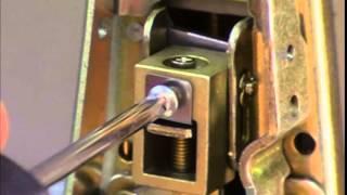 Concealed Vertical Rod Exit Device Adjustment