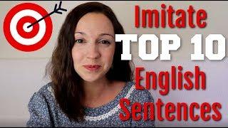 Video How to Pronounce TOP 10 English Sentences MP3, 3GP, MP4, WEBM, AVI, FLV Januari 2019