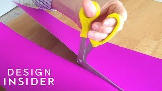 Scissors Cut At A 90 Degree Angle For More Comfort